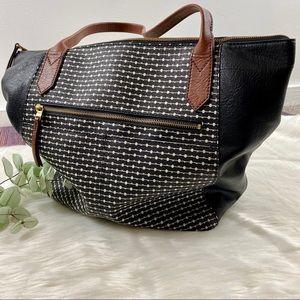 Fossil Fiona Tote Shoulder Bag Handbag Large